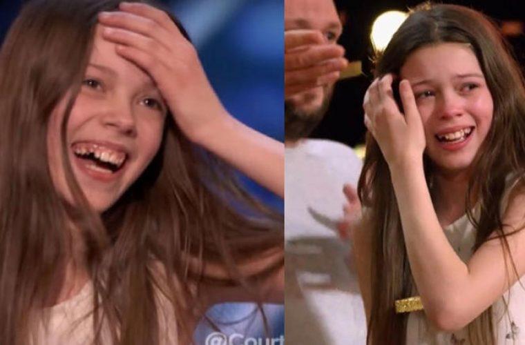 Η 13χρονη που άφησε άφωνους τους κριτές με το ταλέντο της και το… χρυσό κουμπί