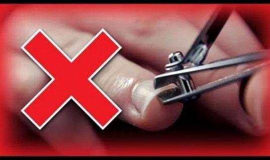 Επειδή μάλλον το κάνετε με λάθος τρόπο, δείτε πώς να κόβετε σωστά τα νύχια σας (Vid)