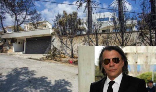 Το ψέμα του Ηλία Ψινάκη για το καμένο σπίτι του. Άλλα λένε οι φωτογραφίες