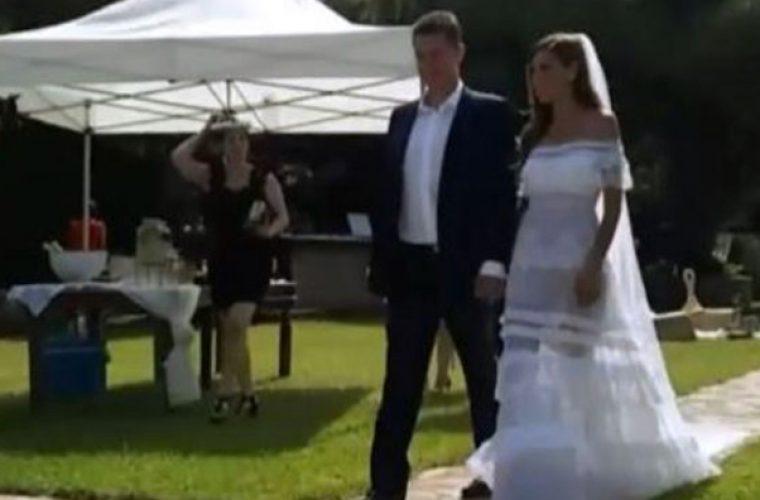 Ο θρησκευτικός γάμος της Ιωάννας Μπούκη και του Αντώνη Σρόιτερ! (εικόνες)