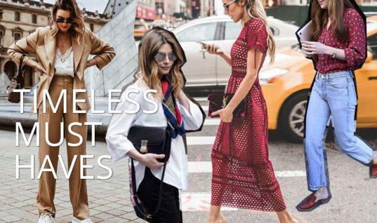 Τα εφτά διαχρονικά και stylish κομμάτια που κάθε γυναίκα πρέπει να έχει στην ντουλάπα της!