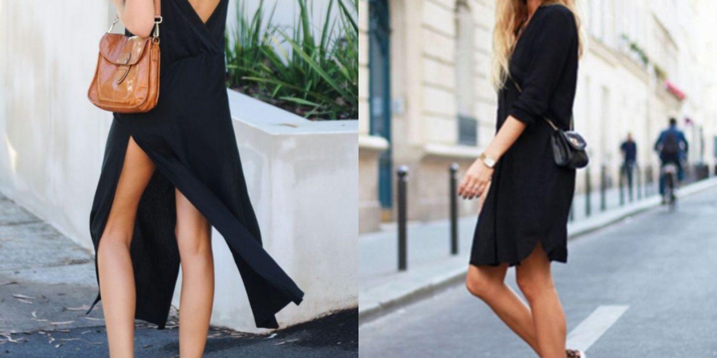 Μαύρο φόρεμα: Πως μπορείς να το αναδείξεις με καλοκαιρινό στιλ