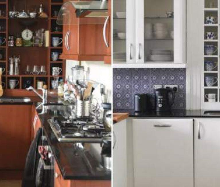 Πριν και μετά: Πώς αυτή η κοπέλα ανακαίνισε εντελώς την κουζίνα της με 500 ευρώ, σε 30 ώρες (εικόνες)