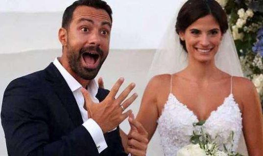 Σάκης Τανιμανίδης – Χριστίνα Μπόμπα: Η πιο ωραία φωτό του γάμου τους! (εικόνα)