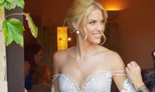 Η Μαντώ Γαστεράτου παντρεύτηκε: Το εκθαμβωτικό νυφικό και οι προετοιμασίες (εικόνες,βίντεο)