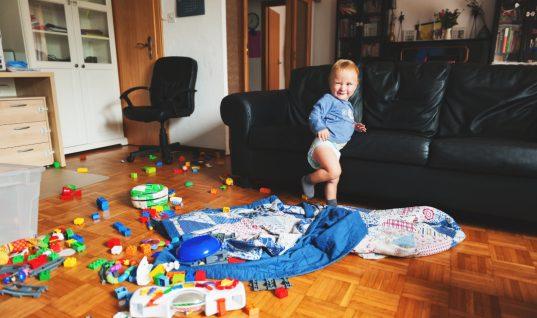 Εχεις παιδιά; Βρήκαμε το τέλειο τρικ για να διατηρείς το σπίτι πάντα τακτοποιημένο!