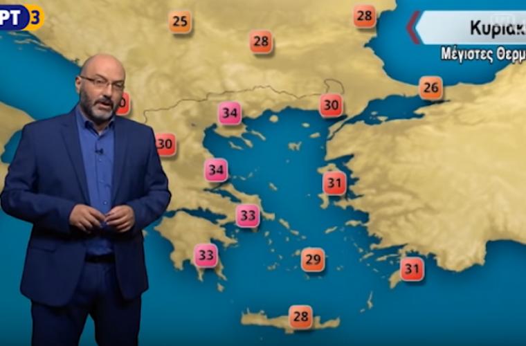 Σάκης Αρναούτογλου: Αλλάζει ο καιρός με σημάδια εφόδου του Φθινοπώρου