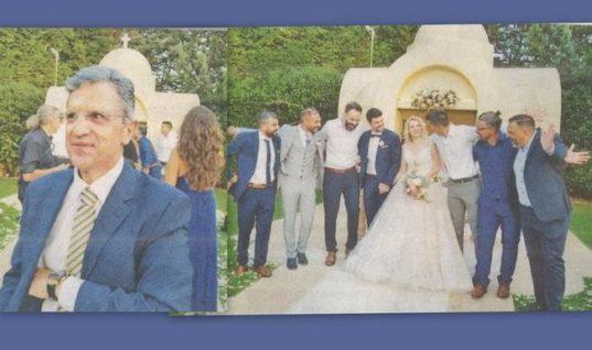Γιώργος Αυτιάς: Φωτογραφίες από τον γάμο της μοναχοκόρης του και η συγκίνησή του!