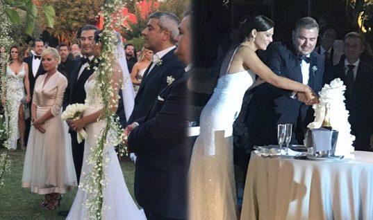 Αντώνης Ρέμος – Υβόννη Μπόσνιακ: Δείτε όλα όσα έγιναν στο γάμο της χρονιάς