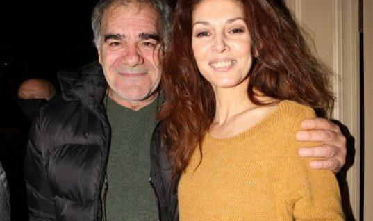 Η κόρη του Γιάννη Μποσταντζόγλου και της Δήμητρας Παπαδήμα έχει υπέροχο όνομα και υπέροχα μπλε μάτια!