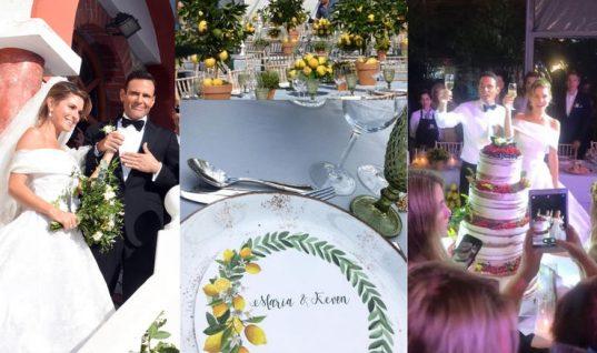 Όσα έγιναν στον απλό, παραδοσιακό και ελληνικό γάμο της Μαρίας Μενούνος! (εικόνες)
