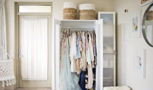 7 απλές λύσεις αποθήκευσης αν δεν έχετε ντουλάπα!