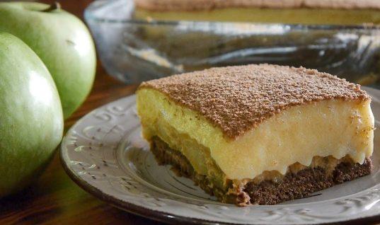 Το γλυκό χωρίς ζάχαρη με μπισκότα και μήλα που θα σας τρελάνει!