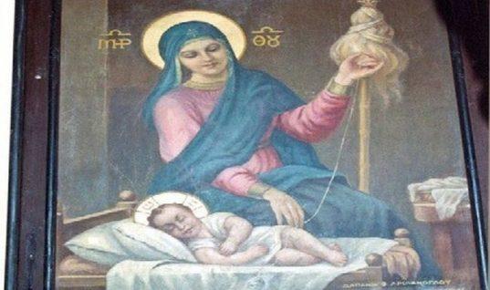 Αυτή είναι η σπανιότερη εικόνα της Παναγίας!