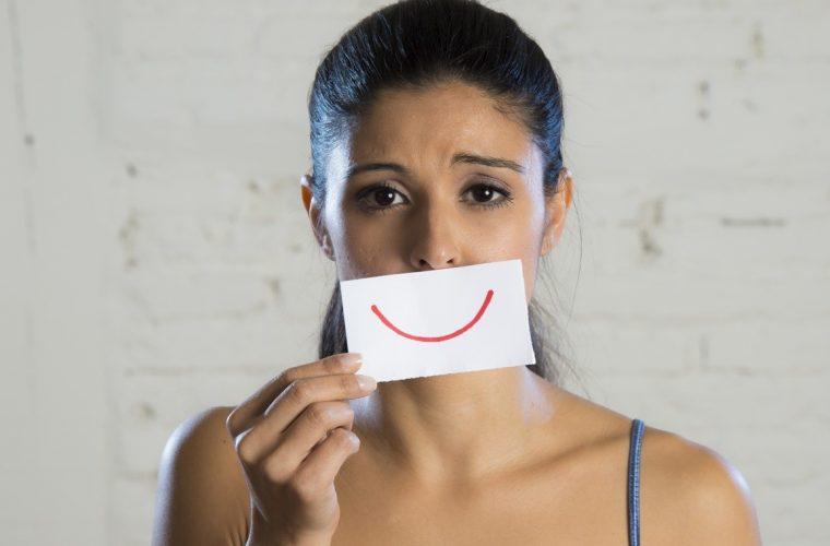 Το χαμόγελο που κρύβει την κατάθλιψη