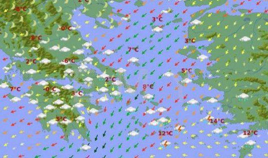 Νέο κύμα κακοκαιρίας από το Σάββατο, με χιόνι στην Αττική -Δείτε τους χάρτες