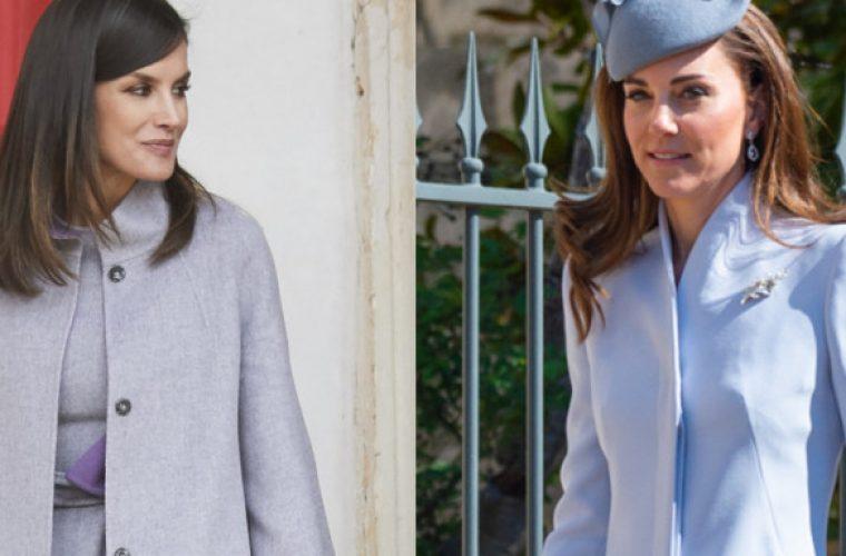 Λετίθια και Κέιτ Μίντλετον φόρεσαν σχεδόν το ίδιο ρούχο αλλά η βασίλισσα… έσκισε την δούκισσα (εικόνες)