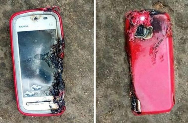 Βέροια: Εξερράγη το κινητό στα χέρια 24χρονης (Vid)