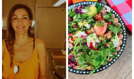 Η Δέσποινα Βανδή μας δίνει τη συνταγή για υγιεινή σαλάτα που εκπλήσσει (εικόνα)