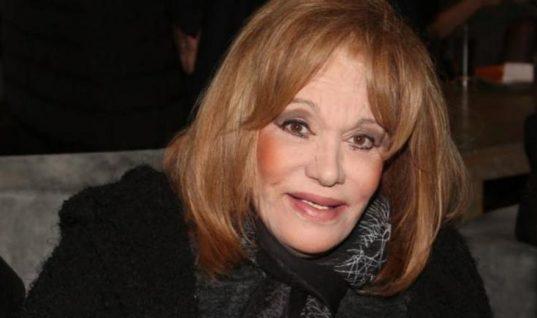 Καθηλωμένη στο κρεβάτι η Μαίρη Χρονοπούλου- Συγκινεί η φωτογραφία της ηθοποιού