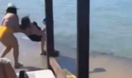 Aτύχημα για την Βίκυ Σταυροπούλου- Έπεσε με την πλάτη