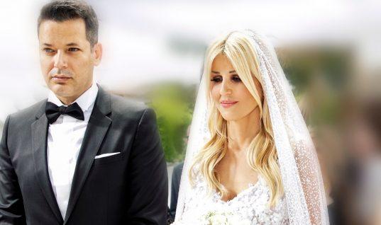 Ελενα Ράπτη: Φωτογραφίες από τον γάμο της με τον Κίμωνα Μπάλλα- Αποκαλύφθηκε το νυφικό της