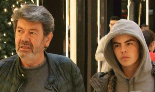 Οικογενειακές διακοπές για τον Αγγελο Λάτσιο -Με τον πατέρα του, τη θεία του και την γιαγιά του (εικόνες)