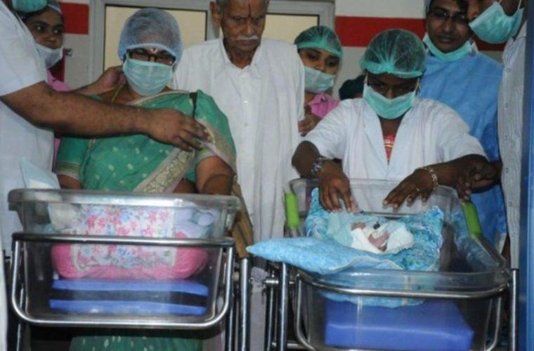 Ινδία: 73χρονη γέννησε δίδυμα και την επομένη ο 82χρονος σύζυγός της υπέστη εγκεφαλικό!