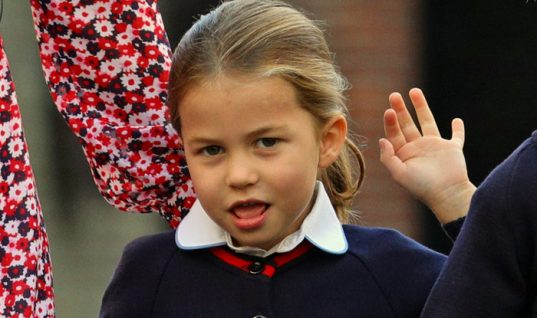 Πρώτη μέρα σχολείο με ντροπές για την πριγκίπισσα Σάρλοτ – Πανέμορφη η Κέιτ (εικόνες)