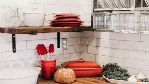 Πώς θα κάνεις τη μικρή κουζίνα να δείχνει μεγαλύτερη