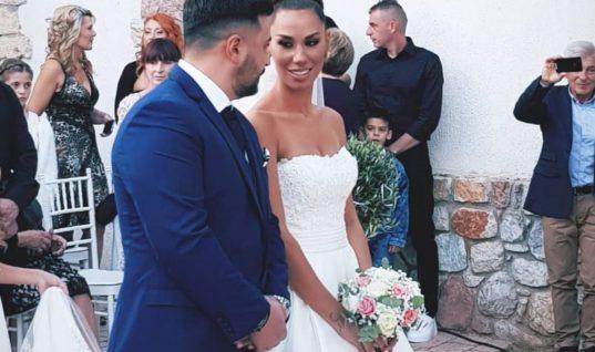 Πωλίνα Φιλίππου – Τριαντάφυλλος Παντελίδης: Παντρεύτηκαν με θρησκευτικό γάμο και βάφτισαν την κόρη τους! (εικόνες)