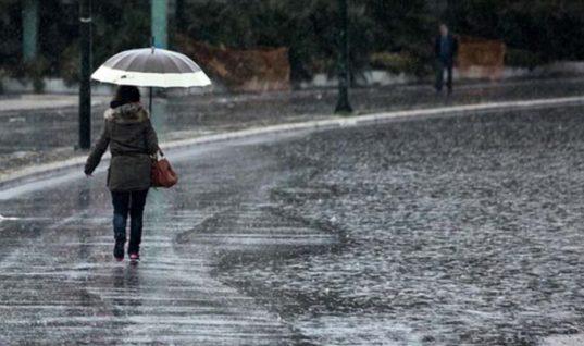 Αλλάζει άρδην ο καιρός: Έρχονται βροχές και χιόνια