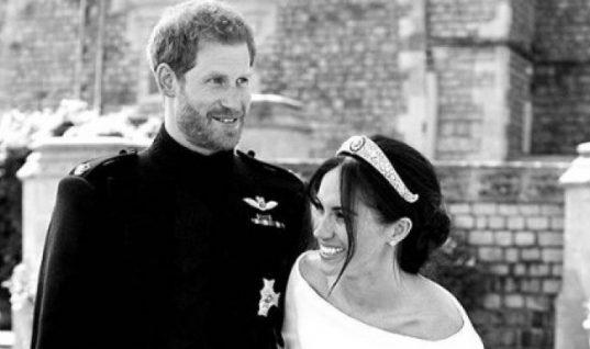 Μέγκαν Μαρκλ και Χάρι: Ανέβασαν την πιο ωραία και εντελώς αυθόρμητη-αδημοσίευτη φωτό- από το γάμο τους (εικόνα)