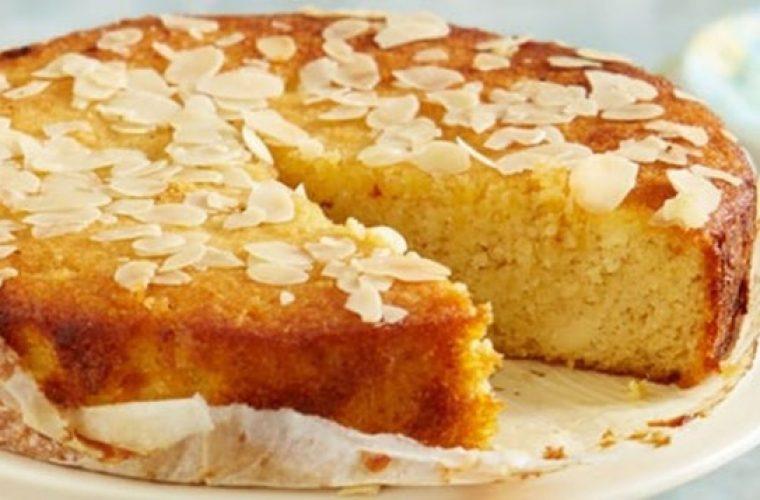 Νόστιμο ισπανικό κέικ με αλεύρι αμυγδάλου