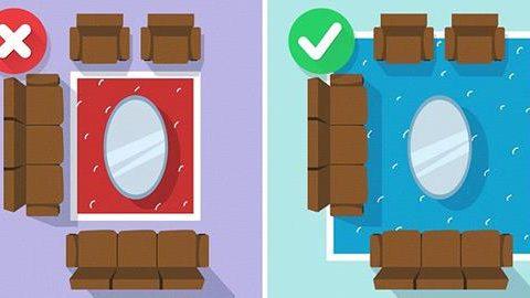 Πώς να τοποθετήσετε σωστά τα χαλιά