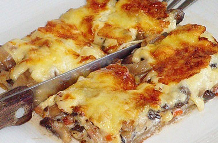 Γρήγορη μανιταρόπιτα χωρίς φύλλο- Η καλύτερη επιλογή για το τραπέζι σας!