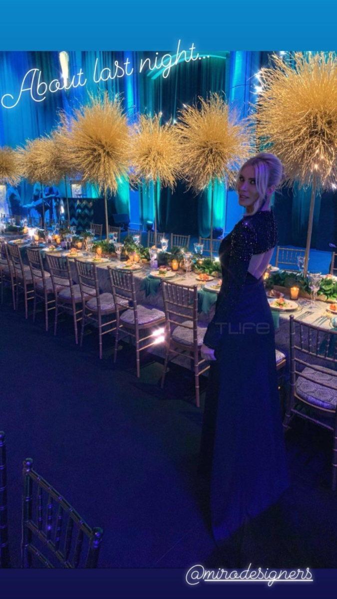 Κατερίνα Καινούργιου- Φίλιππος Τσαγκρίδης: Μαζί κι ερωτευμένοι στον γάμο της Αναστασίας Καίσαρη! (εικόνες)