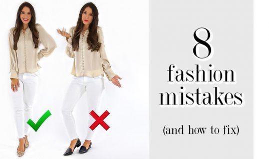 Τα 8 βασικά λάθη στα οποία επιμένεις και χαλάνε το στυλ σου