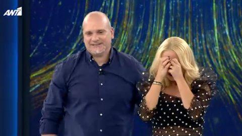 Ξέσπασε σε κλάματα η Μαρία Μπεκατώρου στο Still Standing – Ο παίκτης κέρδισε 30.000 ευρώ, χαμός στο πλατό