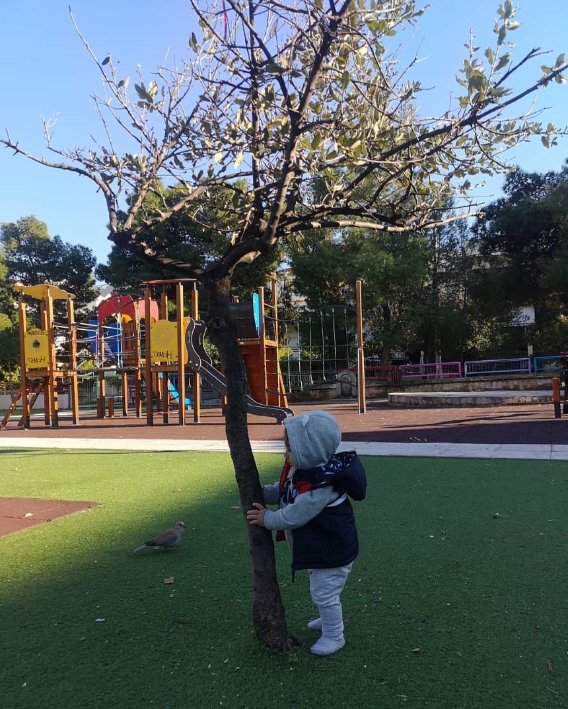 Κατερίνα Παπουτσάκη: Ο γιος της έγινε 10 μηνών και περπατά μόνος (εικόνα)