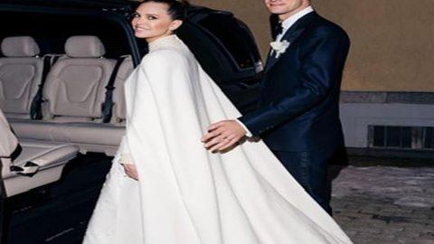 Σταύρος Νιάρχος – Ντάσα Ζούκοβα: Παντρεύτηκαν στο Σεν Μόριτζ – Κλασικό και μίνιμαλ το νυφικό