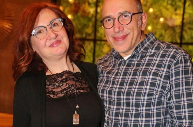 Υπέροχοι: Η φωτογραφία του «Τρελαντώνη» και της «Κανέλας» από τον γάμο τους, πριν 26 χρόνια!