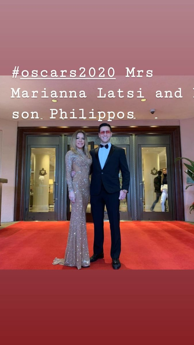 Όσκαρ 2020: Μαγνήτισε τα βλέμματα η Μαριάννα Λάτση με τον γιο της,Φίλιππο, στο κόκκινο χαλί! (εικόνα)