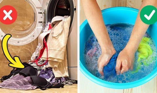 Λάθη που κάνουμε όταν πλένουμε τα ρούχα και τα καταστρέφουμε