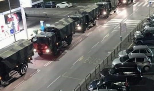 Ιταλία: Το βίντεο-σοκ που πρέπει να δούμε όλοι για να μείνουμε σπίτι μας- Στρατιωτικό κομβόι μεταφέρει πτώματα