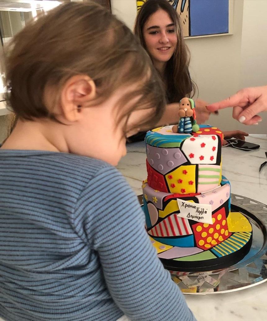 Νίκος Κριθαριώτης - Ναστάζια Δαρίβα: Πρώτα γενέθλια, πρώτο πάρτι για τον γιο τους! (εικόνες)