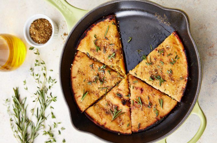 Socca: Ψωμί χωρίς αλεύρι εύκολο και γρήγορο- Θα το λατρέψεις