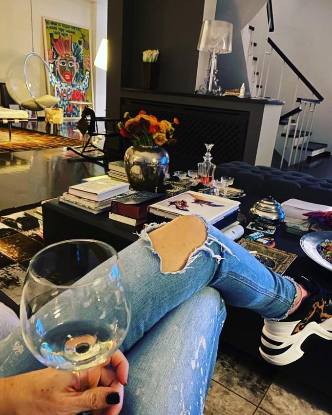 Μαρία Μπακοδήμου: Το σπίτι της είναι ο ορισμός του μοντέρνου! (εικόνες)