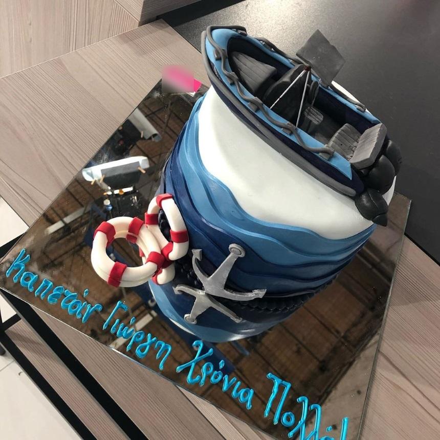 Γιώργος Λιάγκας:Γενέθλια με πραγματικά εντυπωσιακή και ιδιαίτερη τούρτα! (εικόνα)
