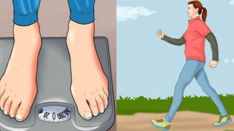 Πώς να χάσετε μισό κιλό την εβδομάδα μόνο με περπάτημα